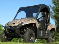 KAWASAKI TERYX UTV HARD WINDSHIELD + TOP + REAR WINDOW