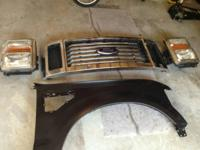 I have 2008-10 Ford F250-F450 parts. Brand new hood and