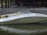 Type of Boat: Deck Boat Year: 2008 Make: Sea Doo Model: