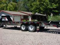 Brand: Top Hat. Trailer has 5' dove tail, 5' ramps,
