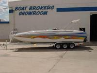 Nice! Performance Cat Hull Deck Boat, 425 HP Mercruiser