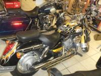 PITTSBURGH STEELERS 2008 HONDA SHADOW 750 CC . THIS