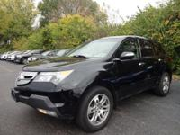MDX Technology, AWD, and ***CLEAN CARFAX***. 3rd row