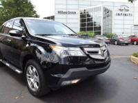 Clean CarFax. Only One Owner. MDX Technology 4D Sport