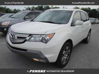 CARFAX 1-Owner. MDX trim. Third Row Seat, Moonroof,