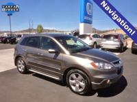 CARFAX One-Owner. Carbon Bronze Pearl 2008 Acura RDX