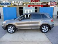 2008 Acura RDX Lifetime Powertrain Warranty Included