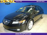 Great looking Acura TL!!! Black with black leather,