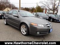 CARFAX One-Owner. Clean CARFAX. Gray 2008 Acura TL 3.2