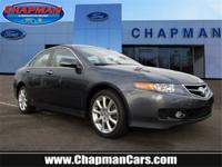 New Price! Gray 2008 Acura TSX FWD 5-Speed Automatic