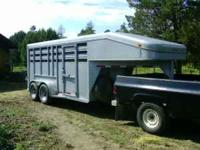 Heavy duty 6 x 16ft custom stock/horse GN trailer with
