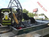 This 2008 Custom airboat is virtually brand-new. The