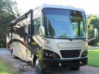 The Motorhome has every available option and is now
