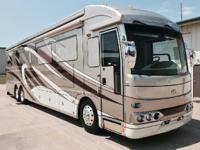 2008 American Coach American Heritage 45B, Diesel fuel,