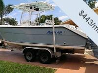 You can own this vessel for just $443 per month. Fill