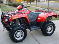 """Like New"" Arctic Cat Special Edition 500 cc ATV"