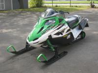 2008 ARCTIC CAT F1000 LXR. THIS IS A TOP OF THE LINE