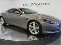 This 2008 DB9 coupe is in spectacular condition with