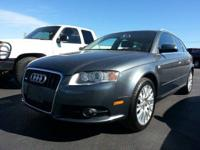 This 2008 Audi A4 resembles a mini-station wagon! It is