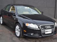 This 2008 Audi A4 4dr 2.0T quattro features a 2.0L 4