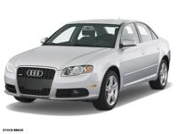 4 Cylinder  Options:  Not Specified|This 2008 Audi A4