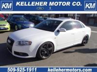 2008 Audi A4 2.0T Quattro AWD sedan! 6-Speed manual,