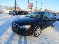 This 2008 Audi A4 2.0 T comes developed to satisfy.The