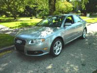 AUDI A4 QUATTRO EQUIPPED WITH S-LINE PACKAGE, AUTOMATIC