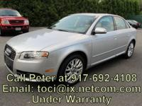 If interested, call . 2008 Audi A4 2.0 L Quattro Unique