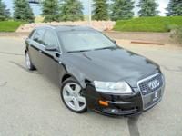 Our 2008 Audi A6 Avant is beautiful in Black and eager