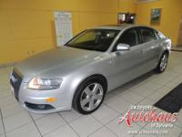 This A6 has 4 new tires, and is equipped with the