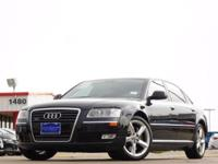 2008 Audi A8 quattro Phantom Black Pearl Effect 6-Speed