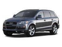 PREMIUM & KEY FEATURES ON THIS 2008 Audi Q7 include,