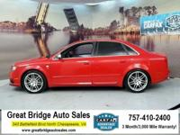 2008 Audi S4 CARS HAVE A 150 POINT INSP, OIL