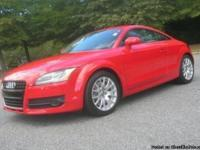 2008 Audi TT 3.2 V6 Quattro All-Wheel-Drive Coupe with