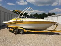 2008 Azure AZ238. This boat is awesome!! In excellent