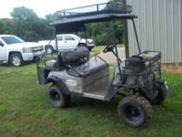 2008 Bad Boy 4WD Electric buggy, several accessories!