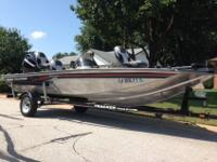 2008 Bass Tracker Pro Crappie 175 equipped with a