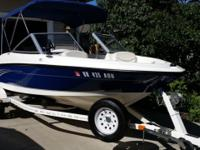 Immaculate condition! Boat has been garaged, less than