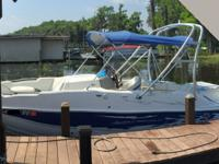 - Stock #76492 - Nice large deck boat that has a wake