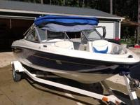 2008 Bayliner Capri 175, 18 ft boat in great condition.