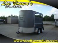 2008 BEE TRAILERS 2 HORSE Our Location is: Lee Brown