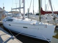 The Beneteau 40 was one of the most popular models