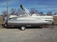 (620) 842-9136 ext.807 2008 Bennington 2075 FSi pontoon
