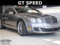 2008 Bentley Continental GT Speed With: Navigation