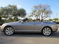 This 2008 Bentley Continental GTC Convertible has an