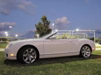 This 2008 Bentley Continental GTC is a VERY RARE