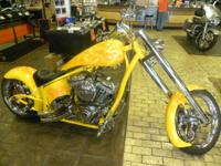 2008 Big Bear Choppers Venom Chopper CUSTOM YELLOW