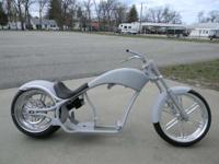 2008 Big Dog Motorcycles Pitbull PRIMER GREY ROLLING