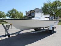 I have a 2008 Blue Wave 180 V-Bay Center Console in